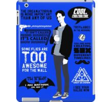 Abed Quotes iPad Case/Skin