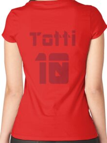 Totti 10 Women's Fitted Scoop T-Shirt