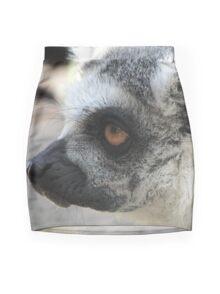 Lemur portrait Mini Skirt