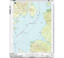 USGS TOPO Map Alaska AK Craig D-1 355312 2000 63360 iPad Case/Skin