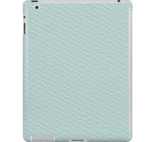 turquoise paper iPad Case/Skin