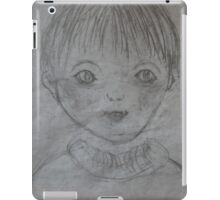 Whimsical Art - Playful Little Boy iPad Case/Skin