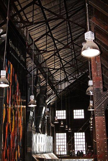Inside Canberra Glassworks (2) by Wolf Sverak