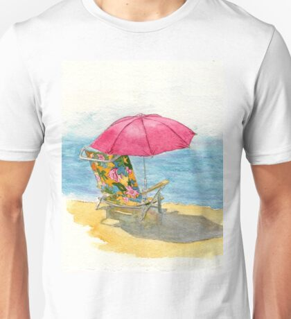 Beach Chair Unisex T-Shirt
