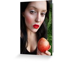 Snow White Grimm Fairytale Greeting Card