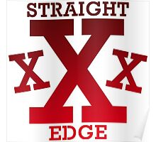 XXX Straight edge Radical Poster
