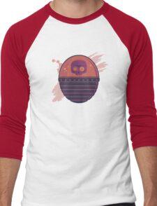 Skull Tank Variant 2 Men's Baseball ¾ T-Shirt
