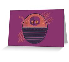 Skull Tank Variant 2 Greeting Card