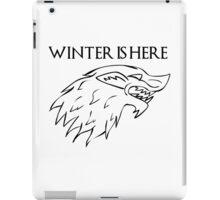 John Snow's banner iPad Case/Skin