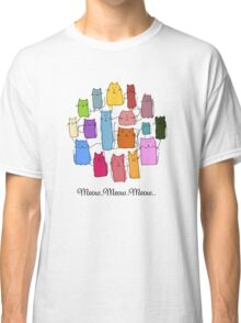 Colorful funny cats Classic T-Shirt