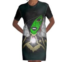 Queen of the West Graphic T-Shirt Dress