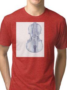 violin  Tri-blend T-Shirt