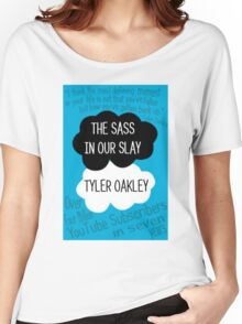The Sass In Our Slay Tyler Oakley Women's Relaxed Fit T-Shirt
