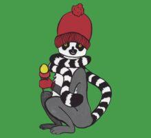 Lemur loves icecream One Piece - Short Sleeve