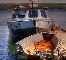 Boats by Michael  Herrfurth