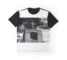 """""""Cross and Bell"""" Graphic T-Shirt"""