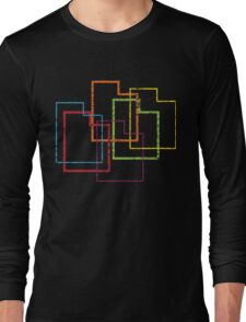 utah pride blur Long Sleeve T-Shirt