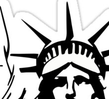 Statue of Liberty/ Black Lives Matter/African American rights Sticker