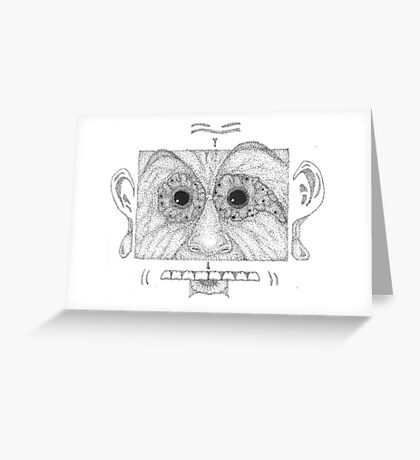 He's Got Semicolon Eyes Greeting Card