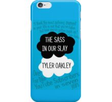 The Sass In Our Slay Tyler Oakley iPhone Case/Skin