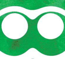 Green Watercolor Squid Sticker