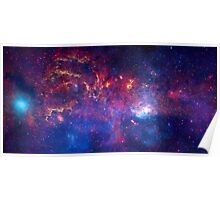 Hubble Space Telescope Print 0025 - NASA's Great Observatories Examine the Galactic Center Region  - hs-2009-28-b-full_jpg Poster