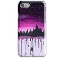 Speckled sky iPhone Case/Skin