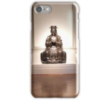 Sitting Poet iPhone Case/Skin
