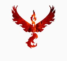 Team Valor Space/Fire theme - Pokemon GO Unisex T-Shirt