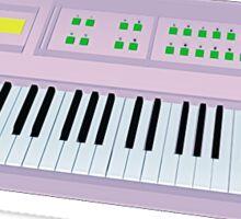 Yamaha DX100 Synthesizer Sticker