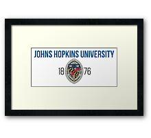 Johns Hopkins University Framed Print