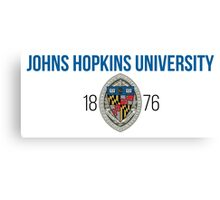 Johns Hopkins University Canvas Print