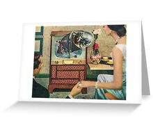 Surveillance Society Greeting Card