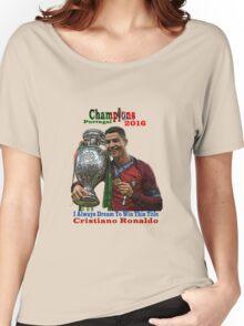 RONALDO EURO 2016 Women's Relaxed Fit T-Shirt