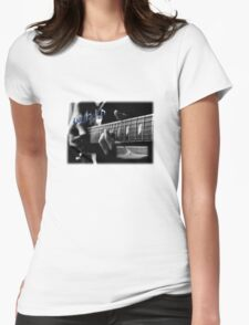 Blues Notes Womens Fitted T-Shirt