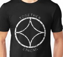 Together Strong (White) Unisex T-Shirt