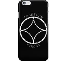 Together Strong (White) iPhone Case/Skin