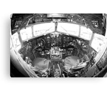 Vintage Cockpit Canvas Print