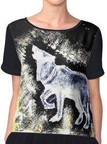 Wolf Spirit Beautiful Chiffon Top