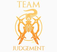 Team Judgement - White Unisex T-Shirt