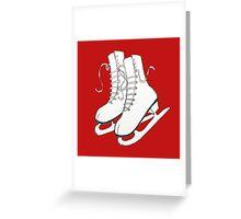 Figure Skates Greeting Card