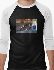 Kelso & Cheeks - Just Another Saturday Men's Baseball ¾ T-Shirt