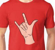 I Love You: Color  Unisex T-Shirt