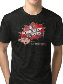 Pork Chop Express - Distressed Variant 2 Tri-blend T-Shirt