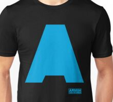 Amin Van Buuren logo A blue - t-shirt - trance - state of trance - festival - tomorrowland - new Unisex T-Shirt