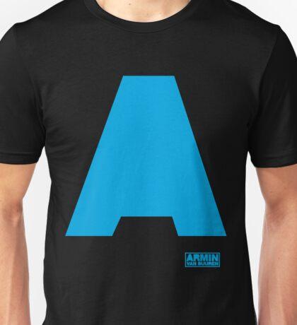 Amin Van Buuren logo A Blue - shirt - state of trance Unisex T-Shirt