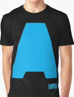 Amin Van Buuren logo A blue - t-shirt - trance - state of trance - festival - tomorrowland - new Graphic T-Shirt