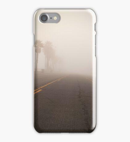 Eerie empty street iPhone Case/Skin