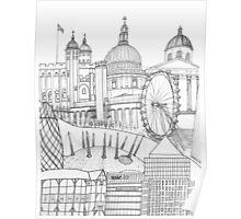 'London town' Poster