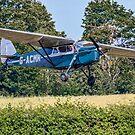 De Havilland DH85 Leopard Moth G-ACLL by Colin Smedley